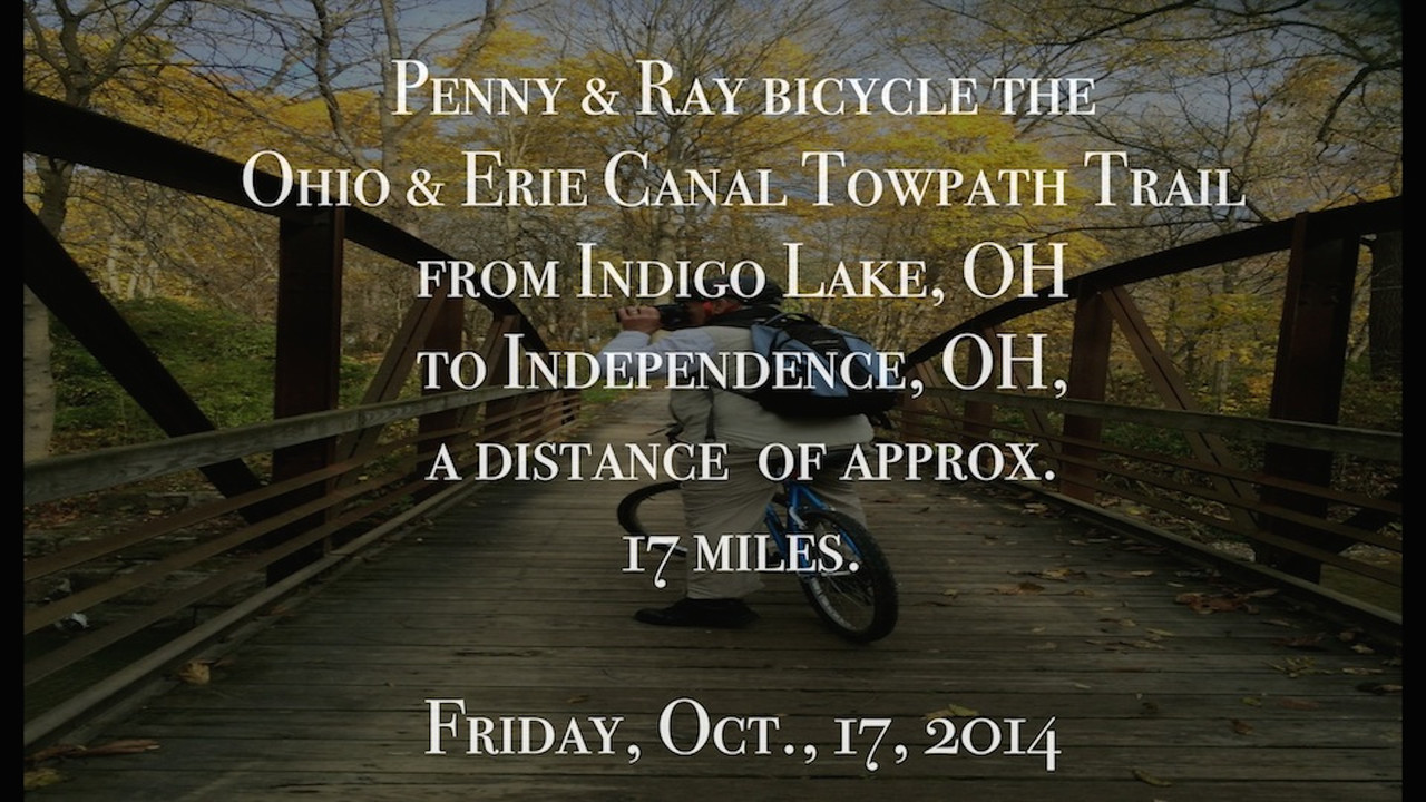 VIDEO:  Bicycling the Cuyahoga Valley