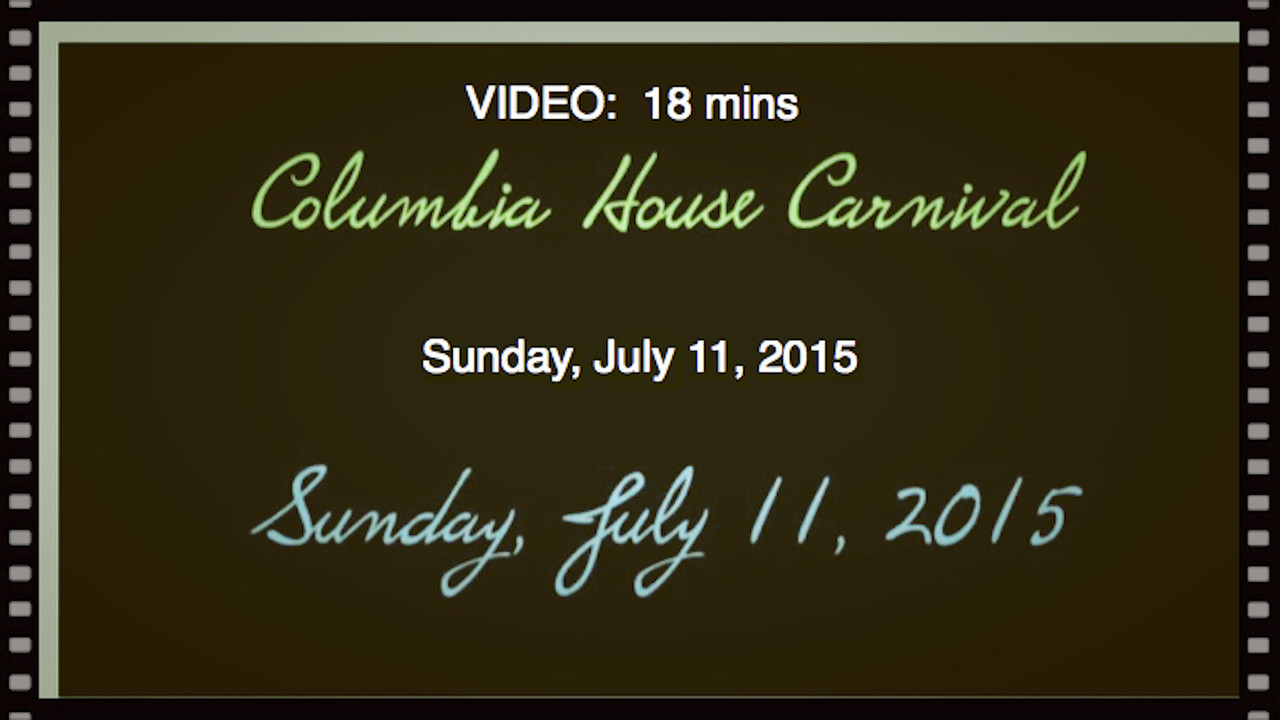 Video:  18 mins.--Columbia House Carnival