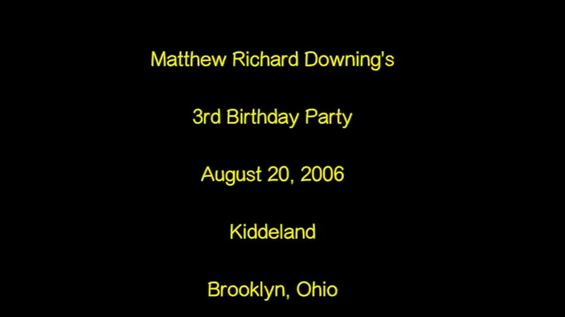 MRDJR 3rd Birthday