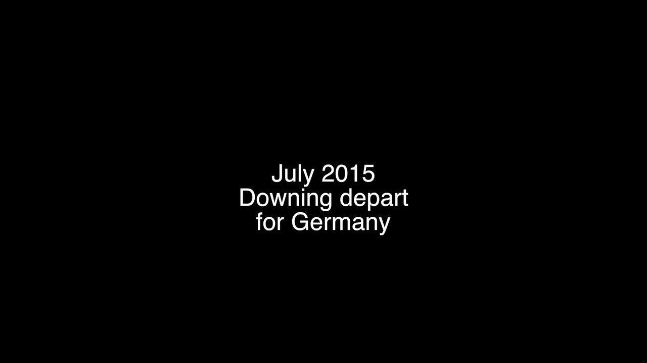 July 2015 with Downings before they leave for Germany