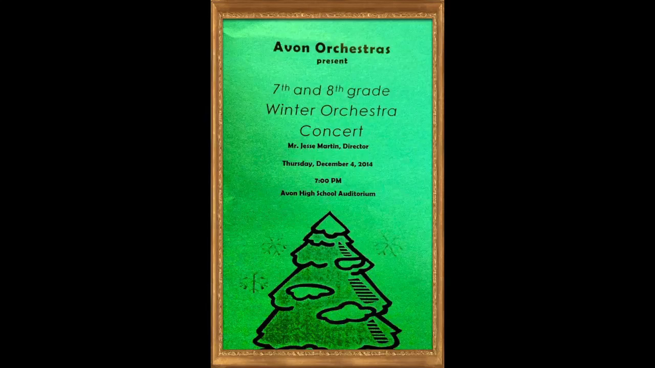 2014 Winter Orchestra Concert