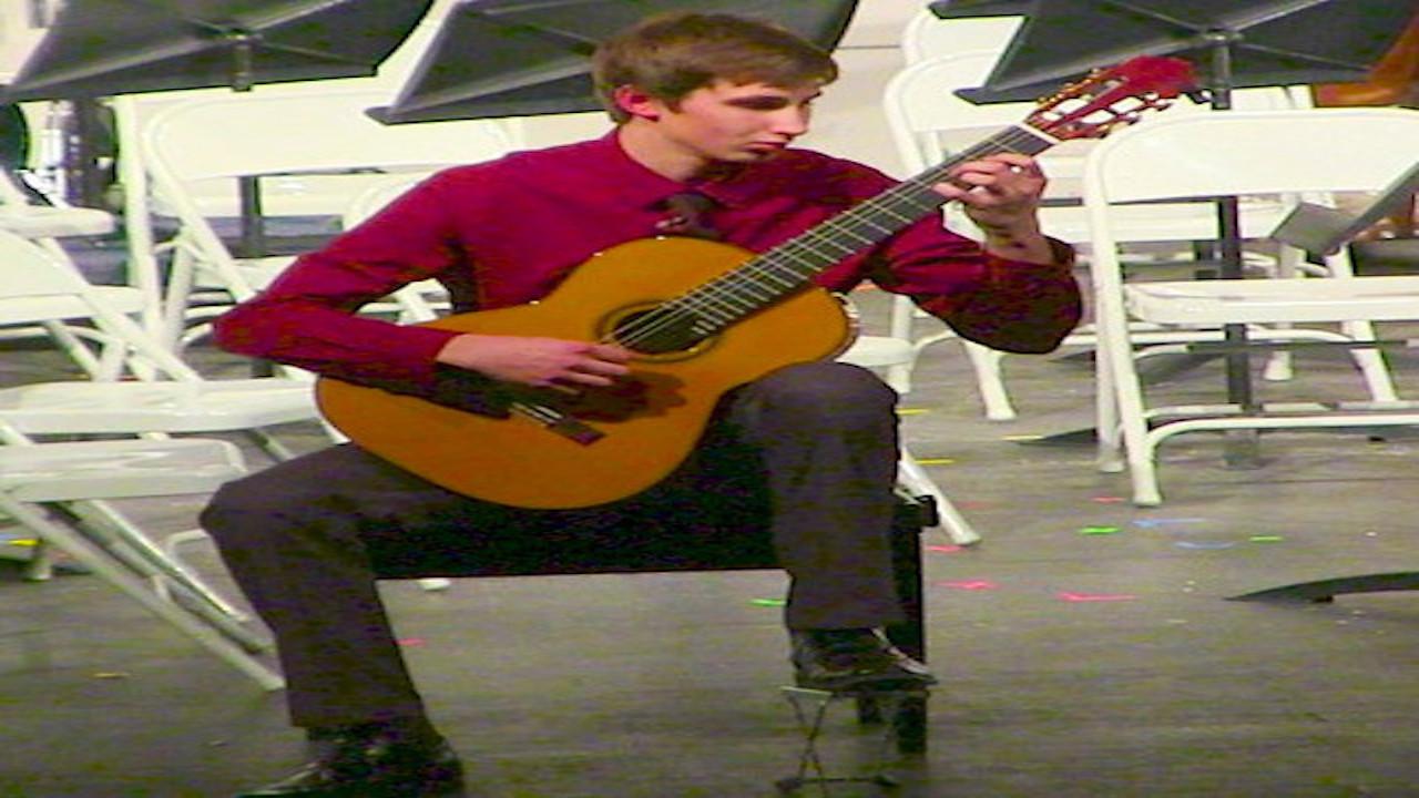 VIDEO - Adam,  High School Soloist