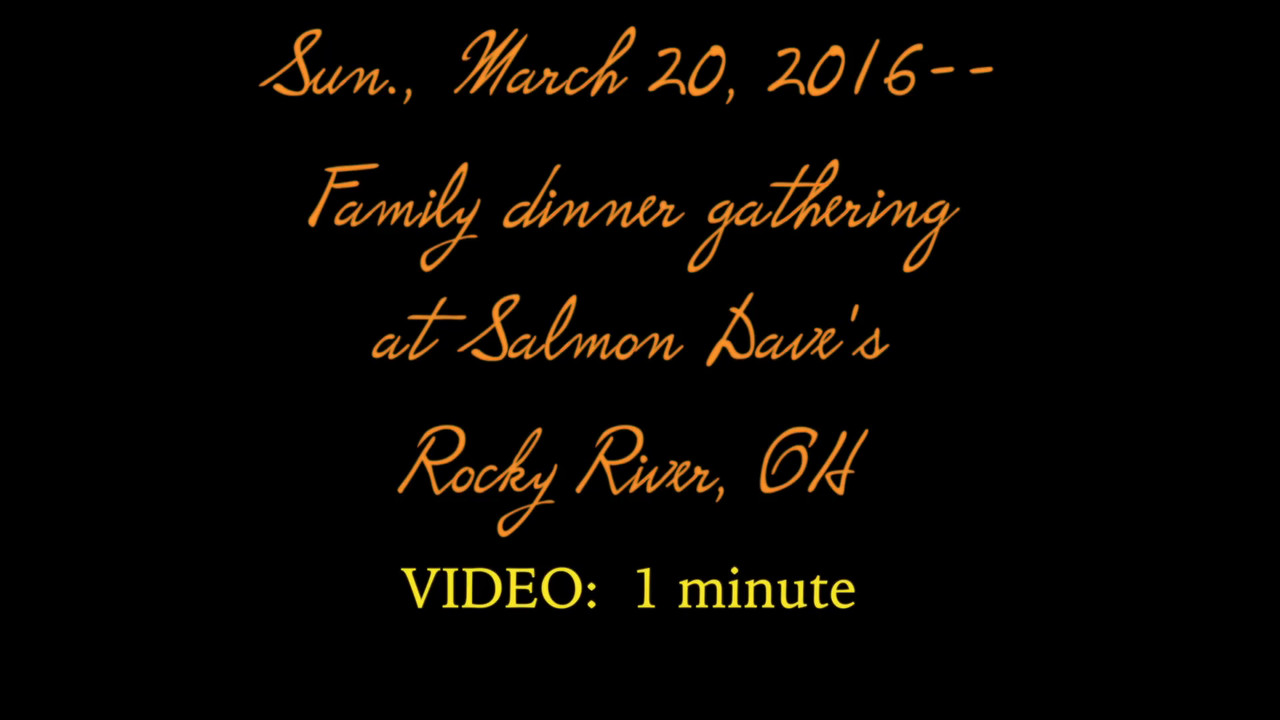 VIDEO:  1 minutes -- Dave & Salmon's - New Orleans Fest