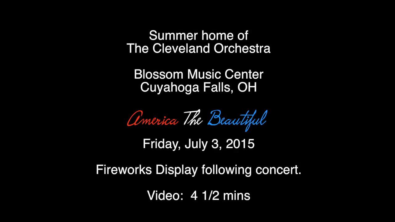 Blossom Music Center-America The Beautiful